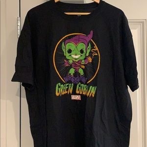 NWOT Pop Tees Green Goblin t shirt
